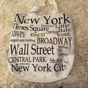 New York tote from NYC